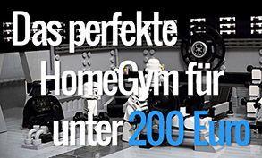 Das perfekte HomeGym für unter 200 Euro #Fitness Training for beginners #Geräte #Muskelaufbau #Muske...