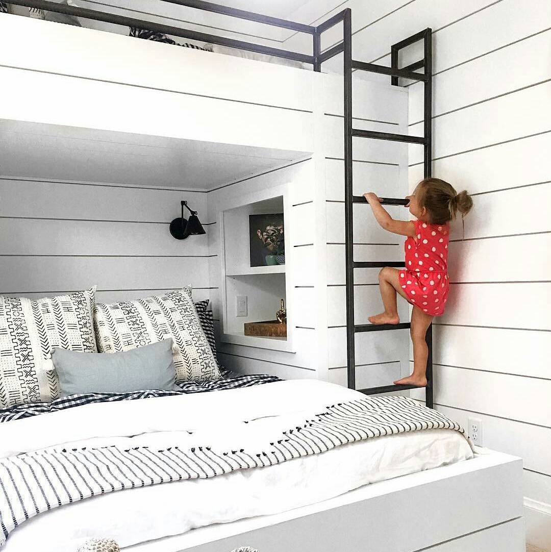 Bunk Bed With Double Below And Twin Above Photo By Lucentlight Via Instagram
