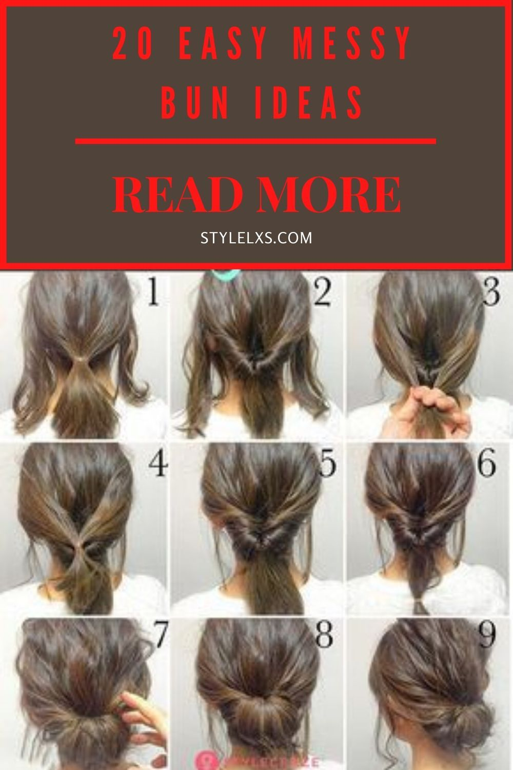 20 Easy Messy Bun Ideas In 2020 Thick Hair Styles Long Hair Styles Hair Styles