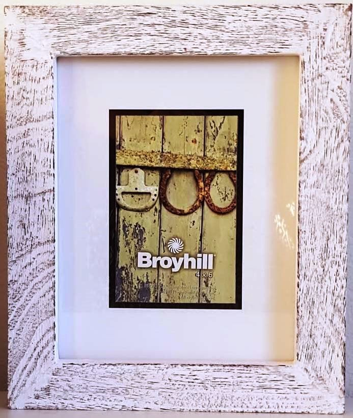 BROYHILL Wood Picture Frame~Coastal, Rustic 4x6 | Wood pictures ...