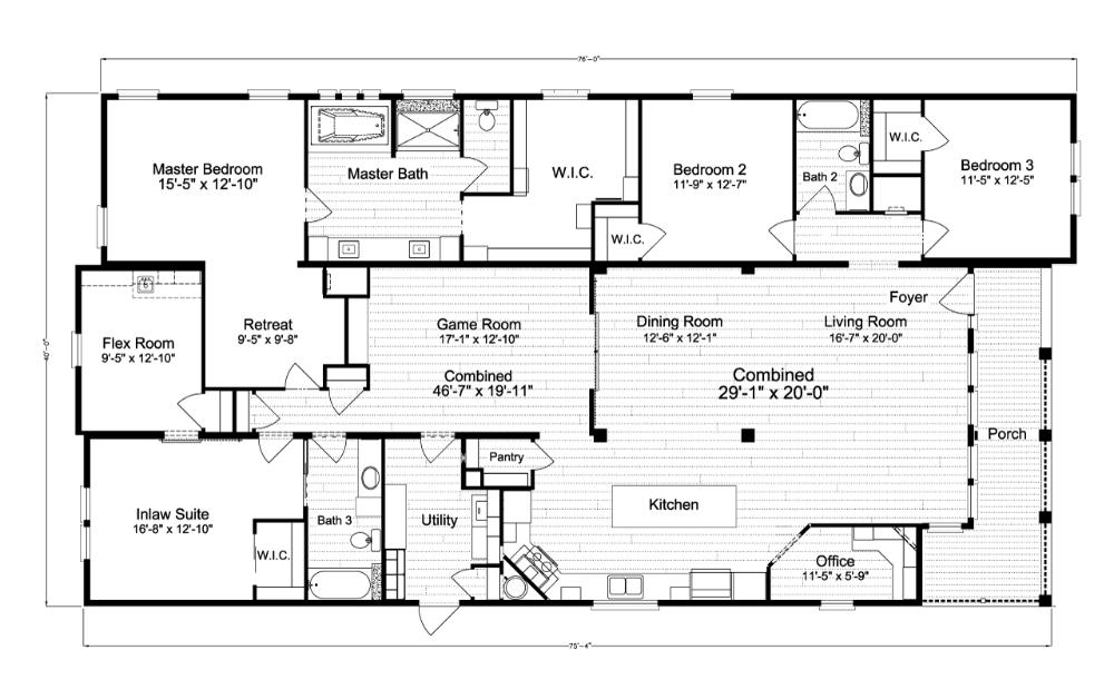Floor Plan La Belle IV TL B
