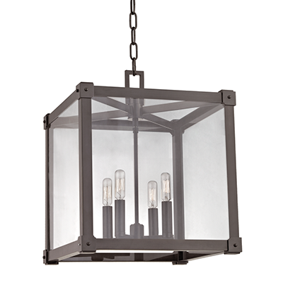 Forsyth Hudson valley lighting, Square chandelier