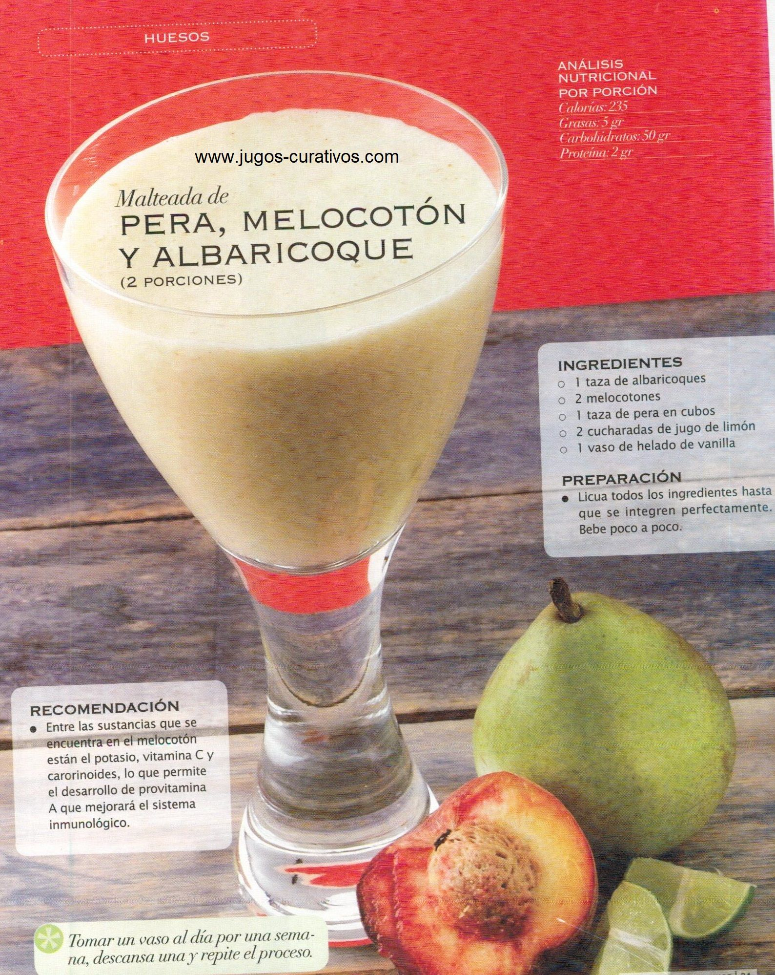 Jugo Para Fortalecer Los Huesos Healty Food Healthy Juices Healthy Smooties
