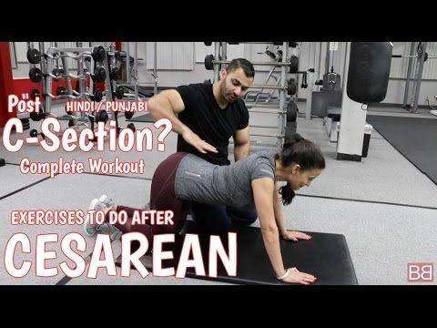 Cesarean C Section Recovery Workout Hindi Punjabi Youtube