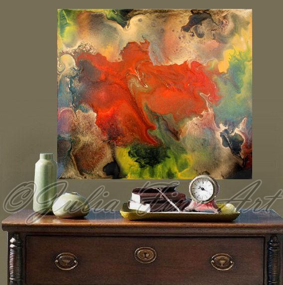 abstract print large canvas painting by juliaapostolova on etsy