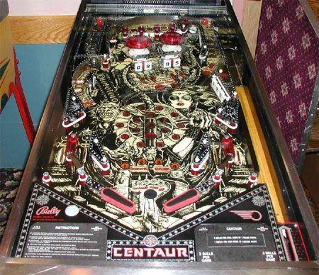 Centaur Pinball Machine For Sale Parts Accessories | Pinball