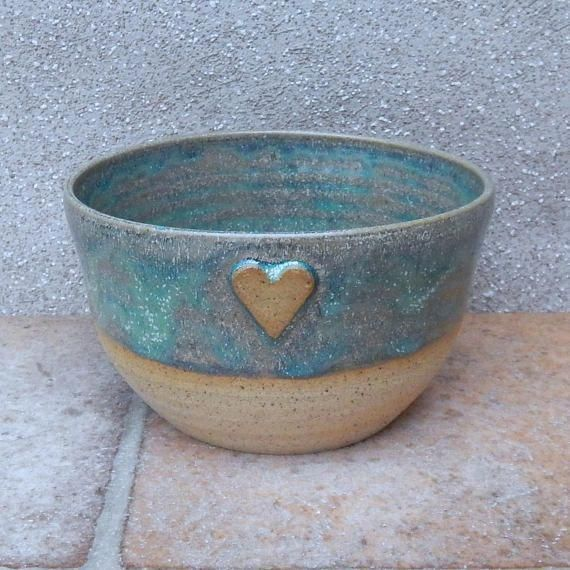 Soup or cereal bowl ......hand thrown stoneware pottery #potterywheel #potteryideas