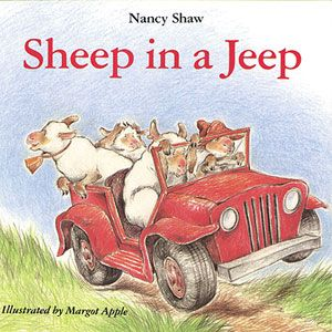 Sheep in the Jeep  By Nancy E. Shaw