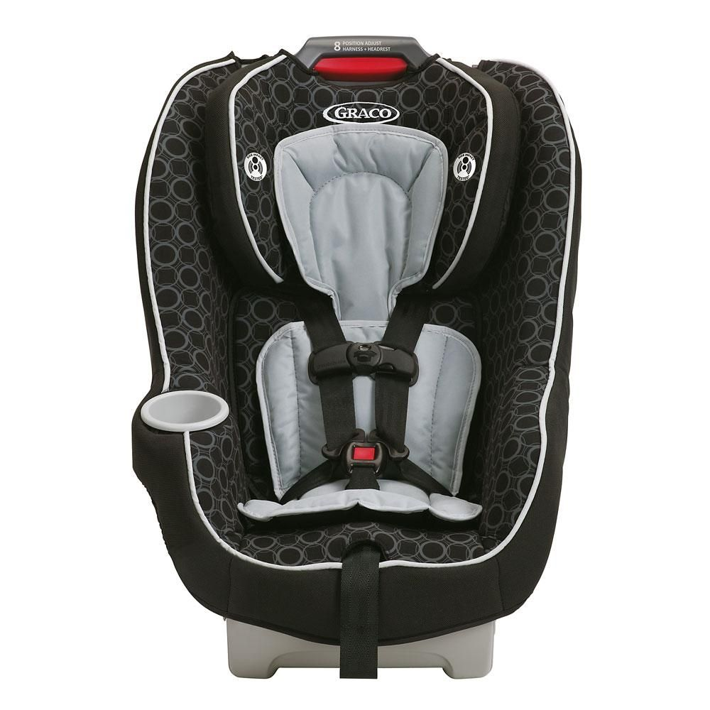 Contender 65 convertible car seat black carbon car