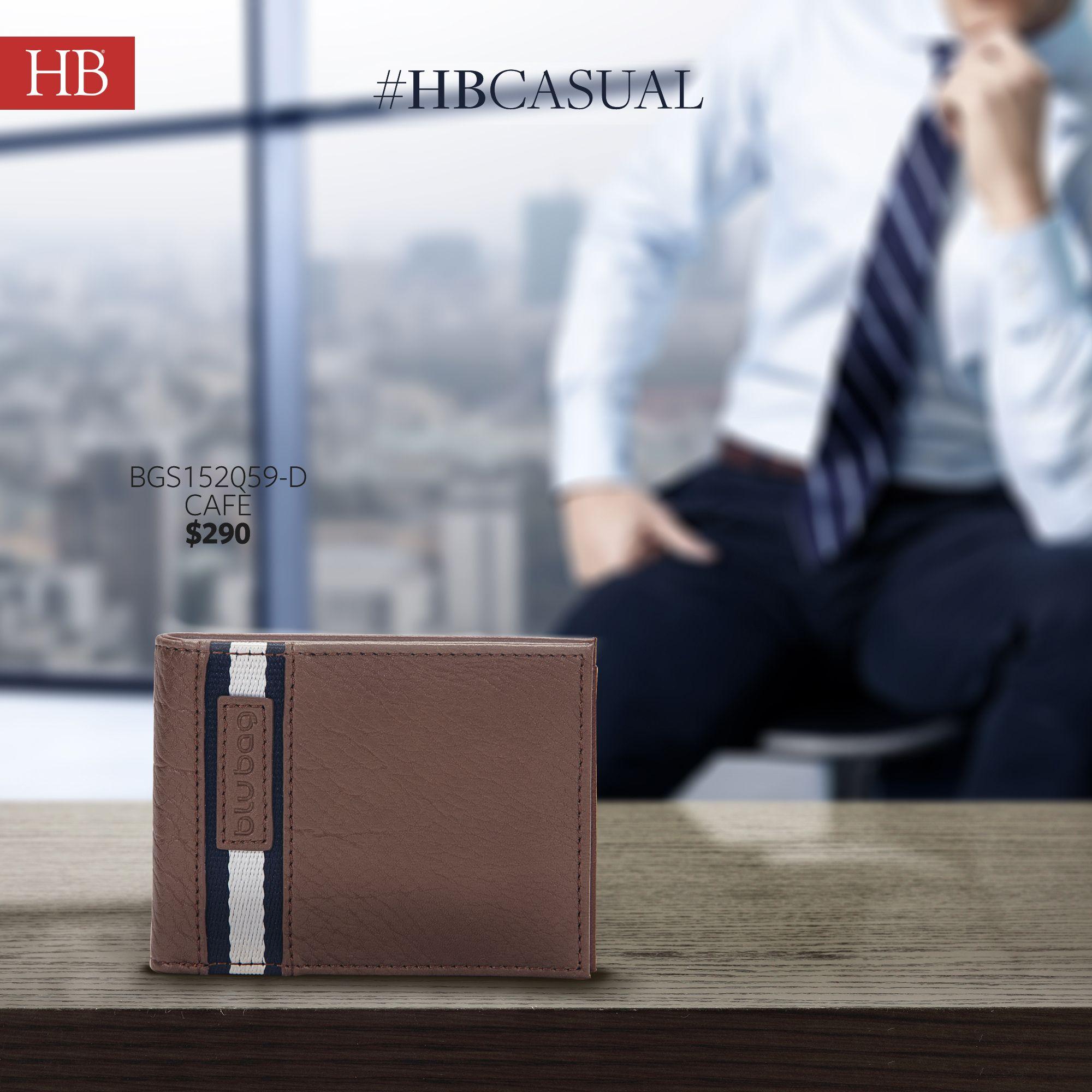 #HB moda para caballero cartera modelo BGS152059-D temporada  #SS16  de venta con tu #EjecutivaHB y al 01 800 426 3224 Whatsapp 3318911222