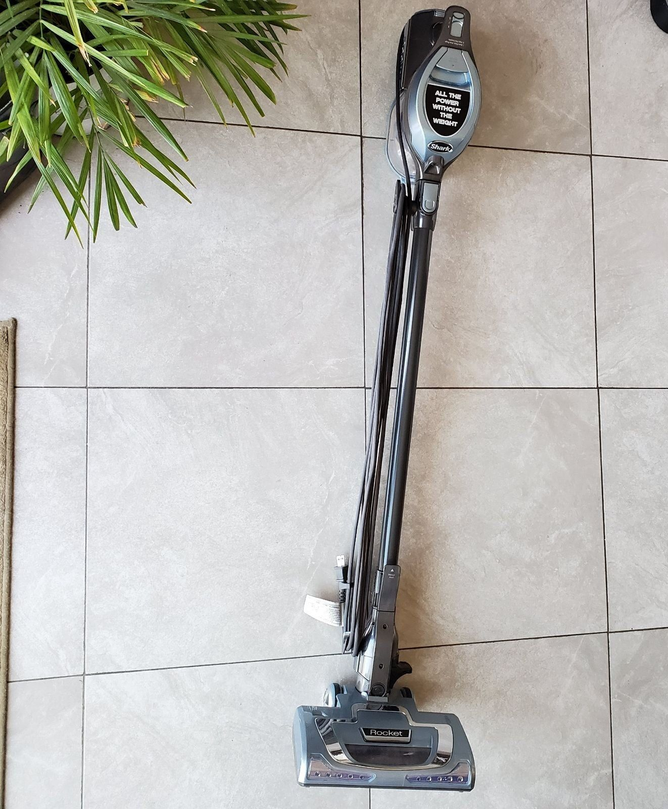 Shark rocket vacuum preowned tested please notice some