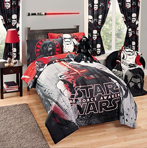 Disney Star Wars 5 Piece Kids Bed In A Bag Full Bedding Set