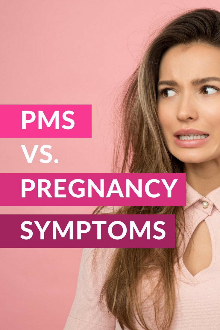 Am I pregnant or is it PMS? | Women's Wellness | Pms, Am i pregnant