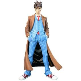 Doctor Who Dynamix Ultra Stylised Figure 10th Doctor Product Image Doctor Who 10 Doctor Who Vinyl Figures