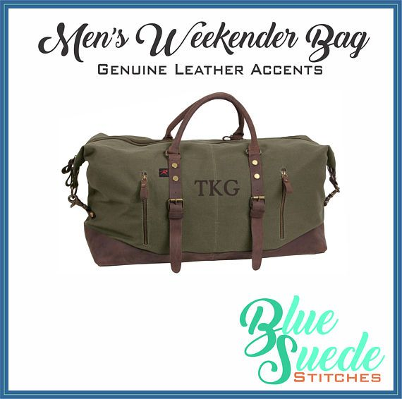 This weekender duffle for men is sure to impress. Every guy needs a great  travel bag and this weekender duffel bag is it. Roomy, durable, classic and  good ... 0580329067