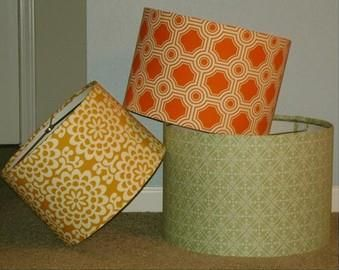 Choose your fabric and make your very own retro lampshade at our lampshades aloadofball