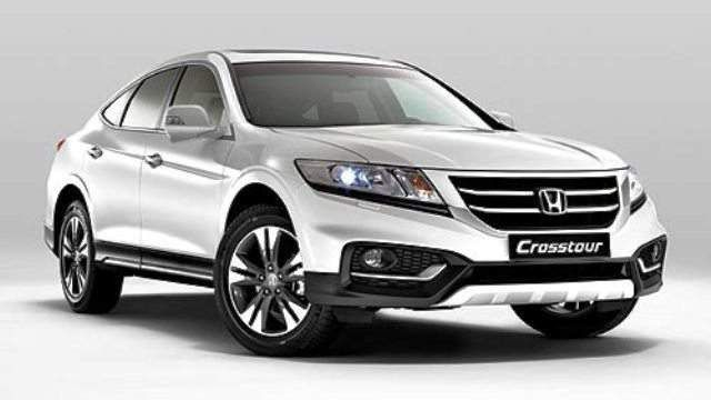 2017 Honda Crosstour White Color Pictures