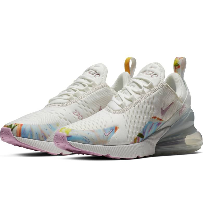 Air Max 270 Premium Sneaker Main Color Summit White Nike Sneakers Outfit Nike Air Max Nike Air Max For Women