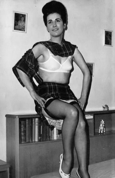 man vintage lingerie fetish
