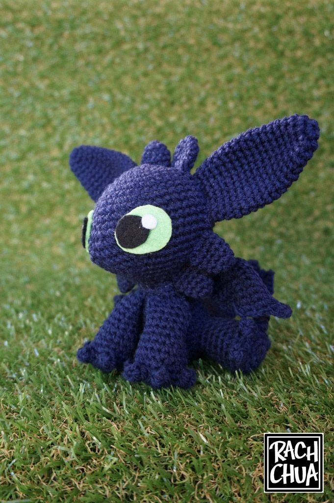 Toothless crochet critter :) | Fun! | Pinterest