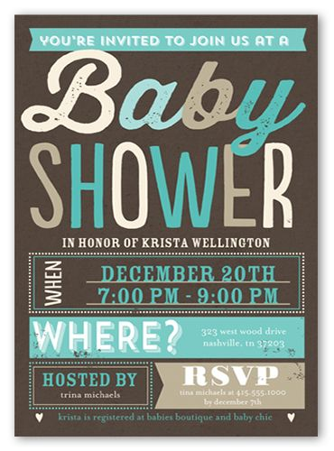 Blissful Shower Boy 5x7 Greeting Card | Baby Shower Invitations | Baby  Adrian | Pinterest | Shower Invitations