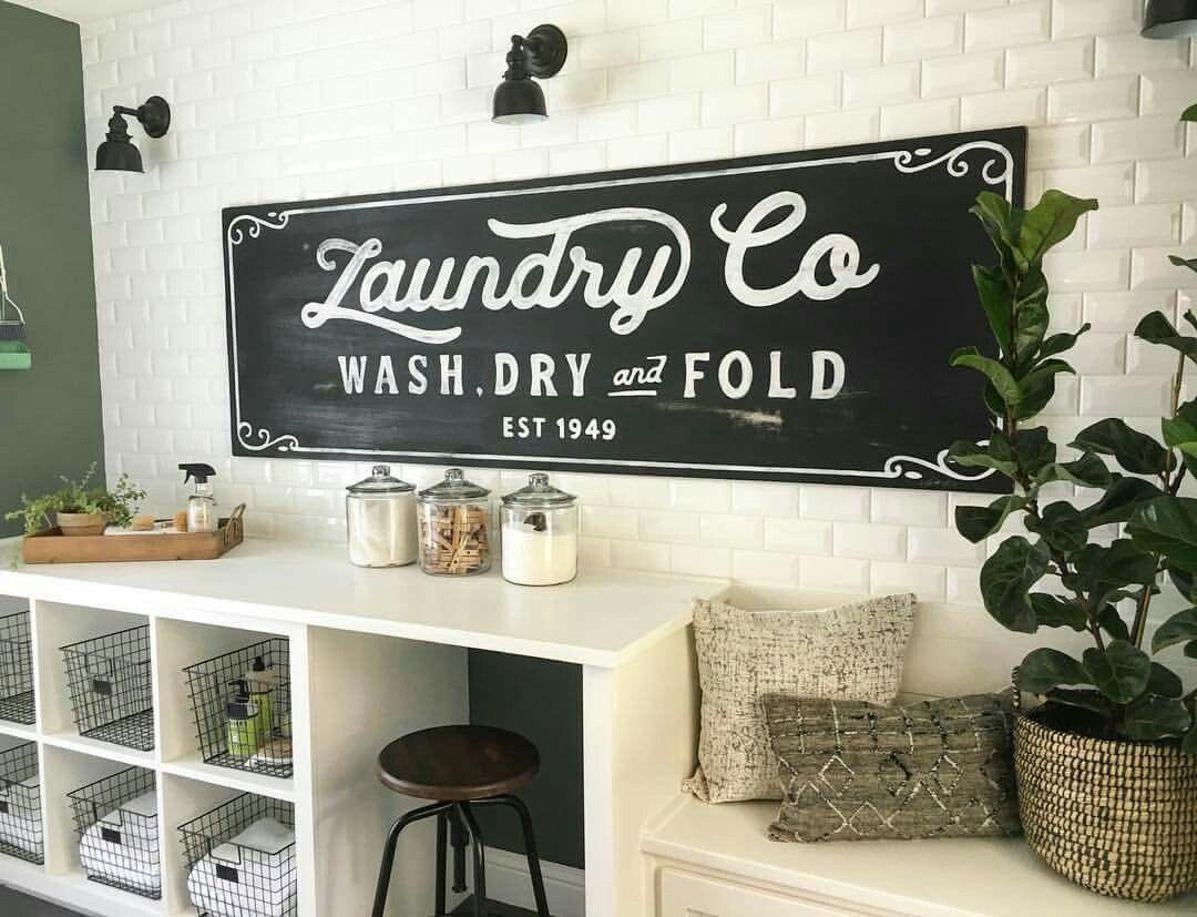 Joanna Gaines Laundry Vintage Laundry Room Decor Vintage Laundry Room Laundry Room Decor