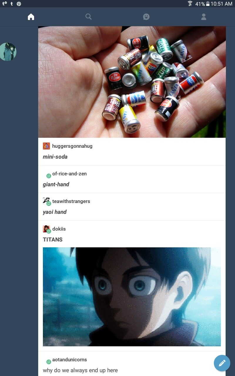 uh oh eren has that face again Attack on titan funny