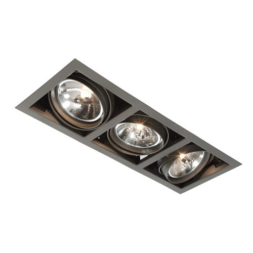 Ar00301 box ar111 triple recessed downlight kitchen pinterest if you are looking for a recessed spotlight then look no further than the lighting superstore mozeypictures Gallery