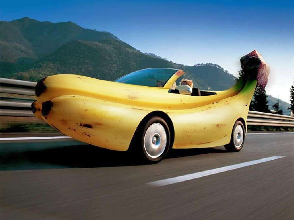 Click here to download in hd format banana car wallpaper https