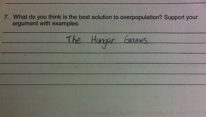 Latest Funny Kids 25 Funny Test Answers From Funny Kids That Deserve an A+ 25 Funny Test Answers From Funny Kids - You did not support your argument! tsk tsk :) 9