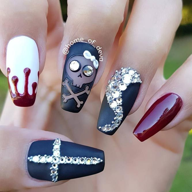21 Cool Halloween Nail Art Ideas for You to be Delighted | Halloween ...
