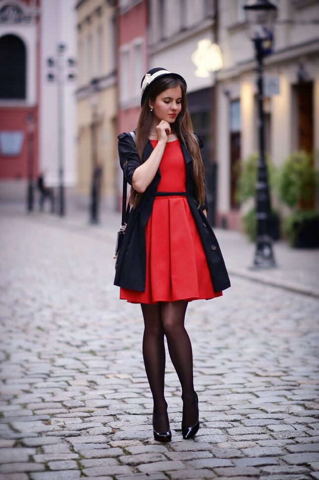Dress With Stockings