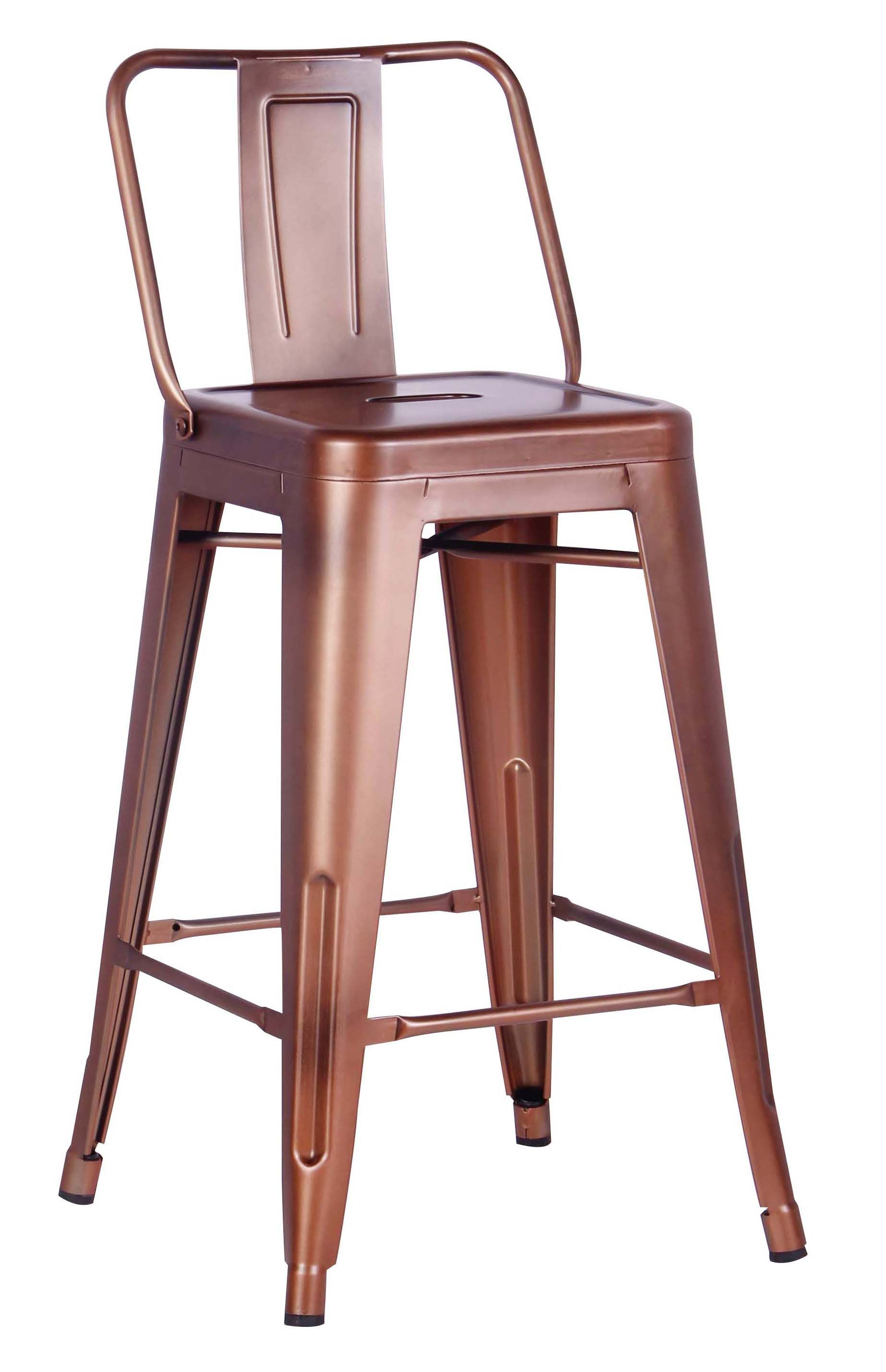 Beautiful Grey Bar Stools with Backs