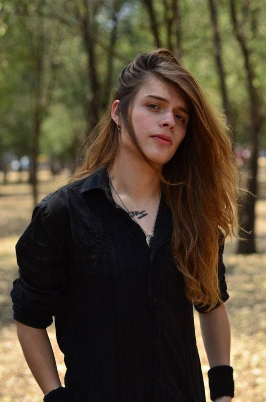 Men with long hair - Men with long hair Photo (32142678 ...