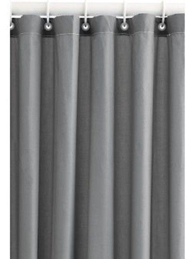 grey shower curtain | Grey Shower Curtain | Teal Curtain UK | Home ...