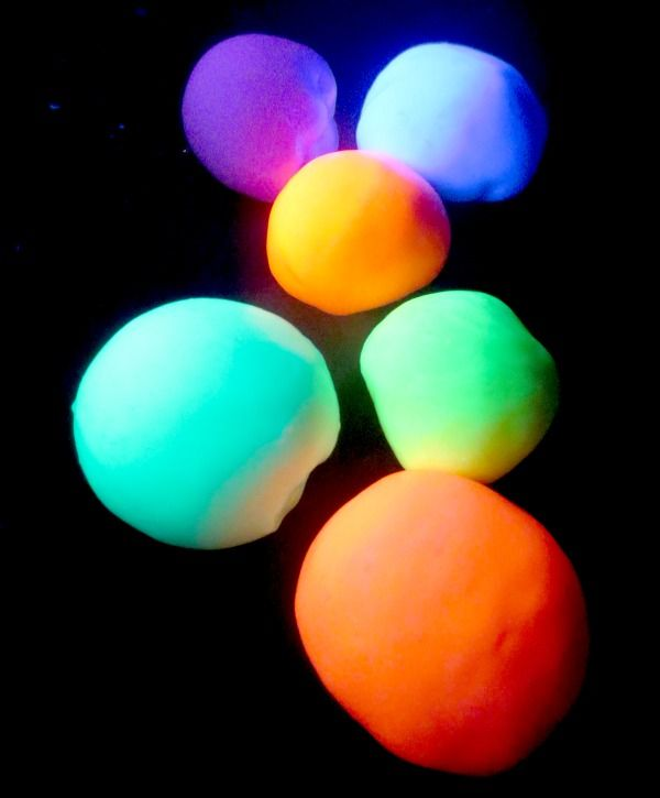 These cool glow in the dark bouncy balls are easy to make with ...