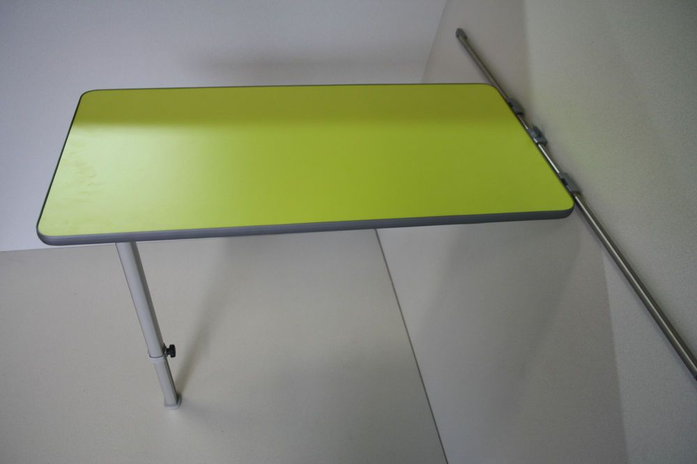 Best of Details about LIME GREEN FINISH CAMPERVAN TABLE & LEG & RAIL ADJUSTABLE LEG LENGTH VW T5 Lovely - Awesome telescoping table legs Lovely