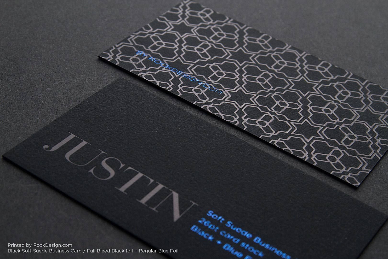 Soft Suede Business Cards Rockdesign Luxury Business Card Printing