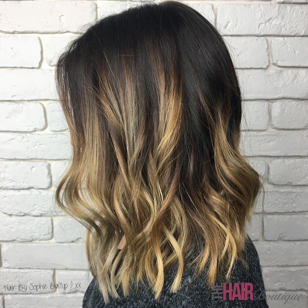 Chocolate And Caramel Tones In This Beautiful Bronde Balayage By Sophie Baitup Hair Boutique Bronde Bronde Balayage