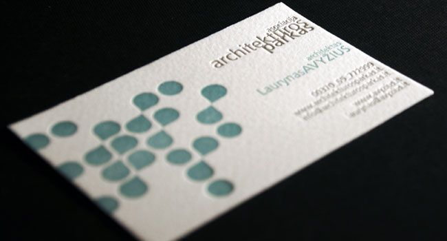 35 Architect Business Card Designs For Inspiration | Joan Ignasi ...