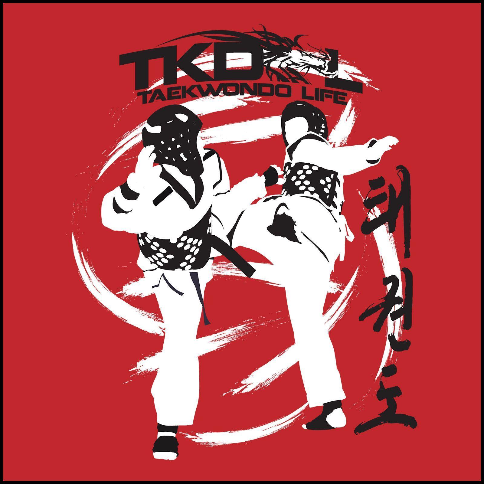 Taekwondo Quotes Spin Kicks Taekwondo Sst Tshirt  Bold Graphic Free Shipping