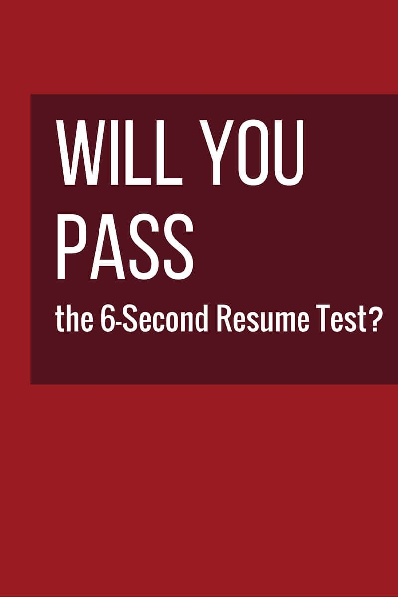 hr pros scan resumes in 6 seconds before deciding to keep or trash