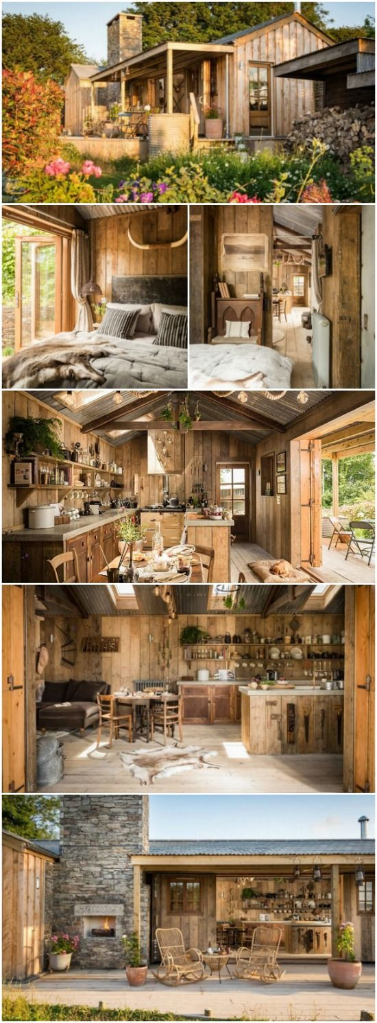 Tiny Home Designs: Perfect Couple's Retreat At The UK's Rustic Firefly Tiny House