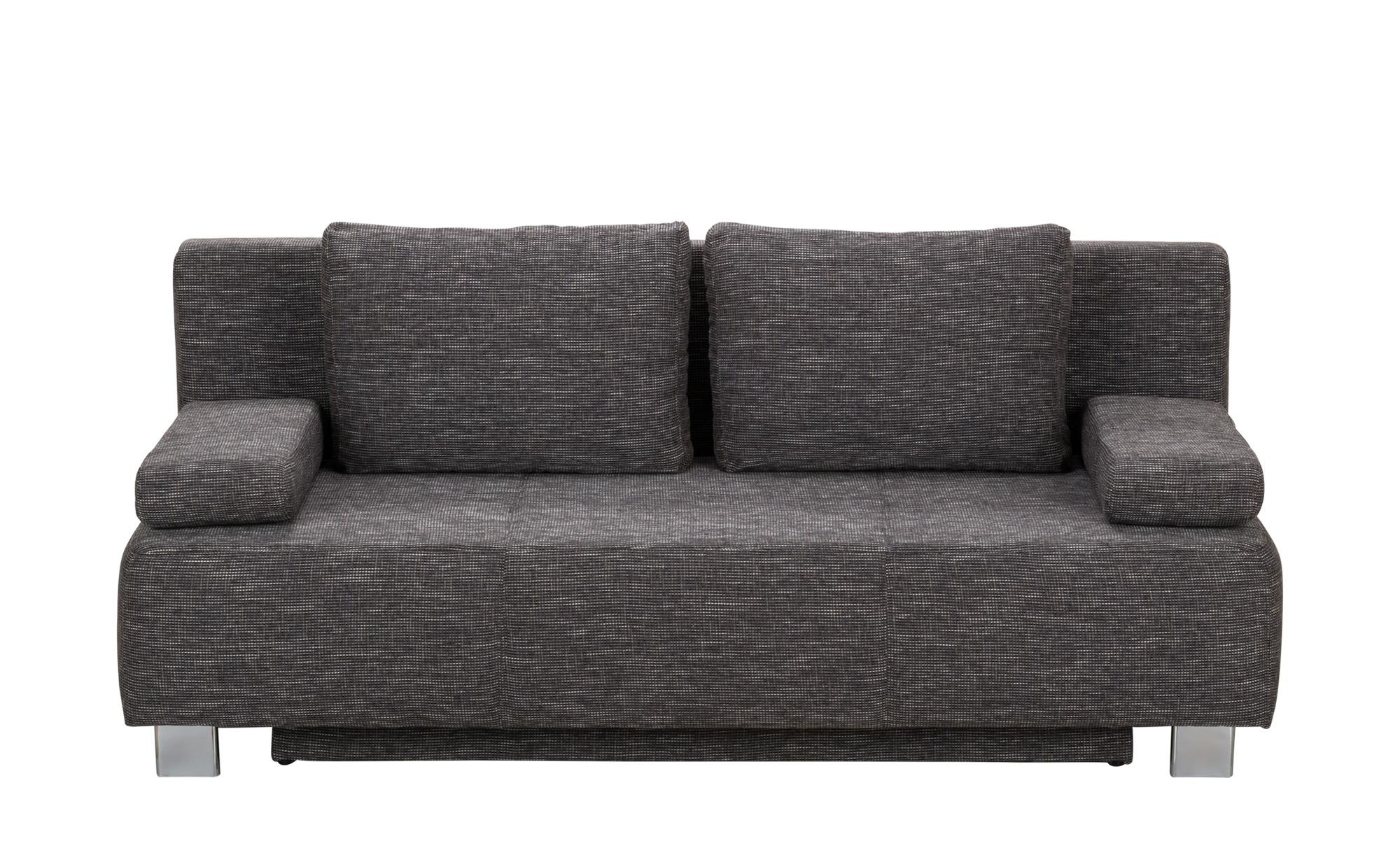 Schlafcouch Grau Webstoff Donald Schlafcouch Couch Gunstig