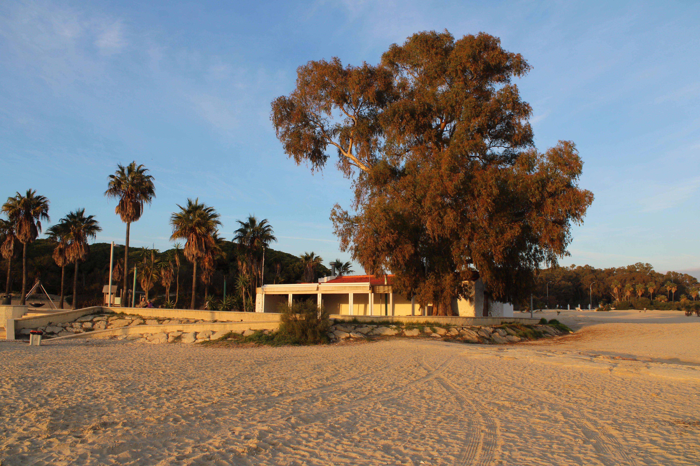 playa de la puntilla en El Puerto de Santa María