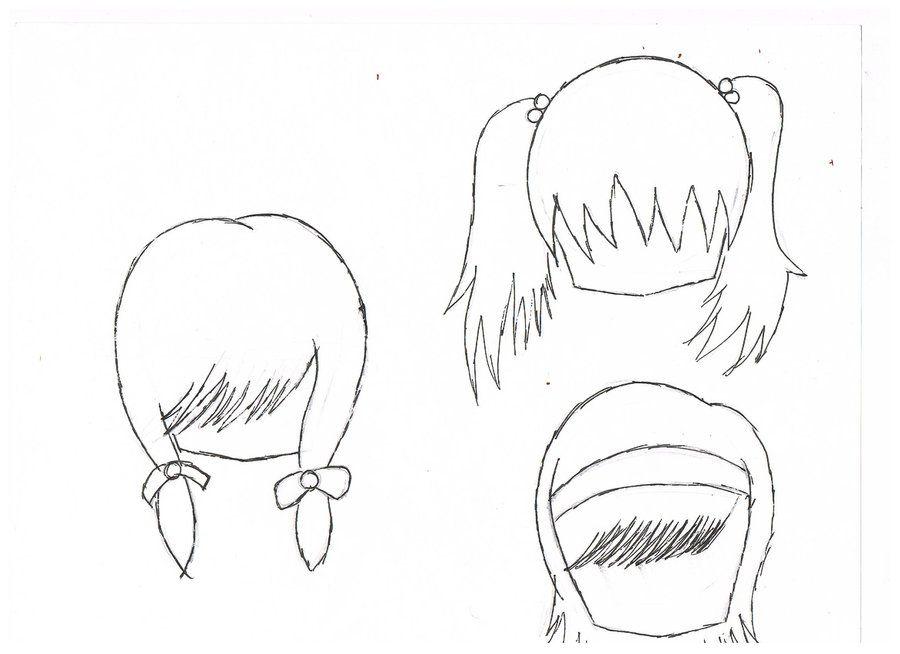 chibi girl hairstyles - Google Search | Art | Pinterest ...