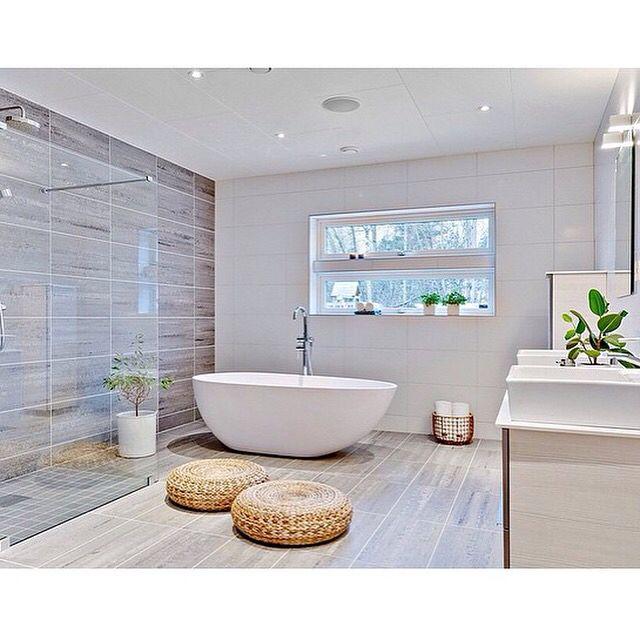 Best Bathroom Designs, Shower Bench, Grey