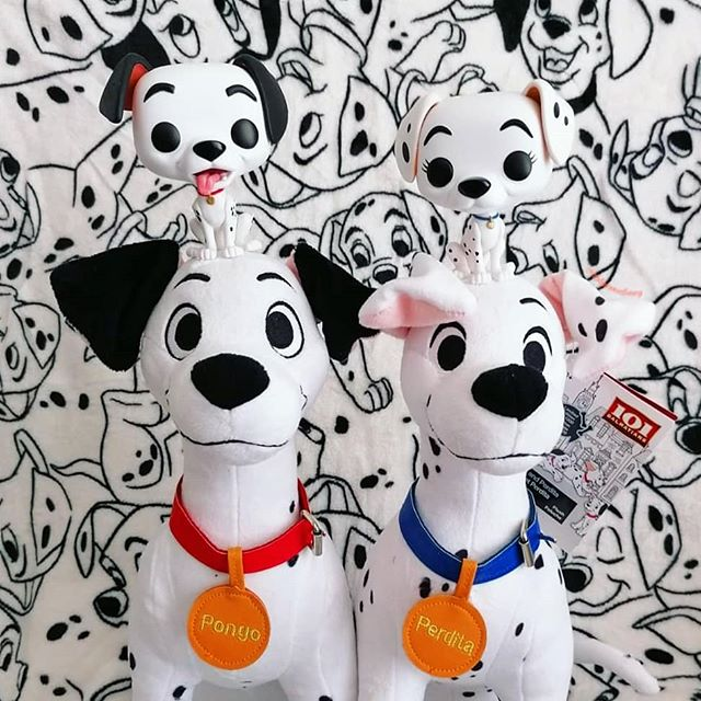 Pongo And Perdita The Perfect Couple 101dalmatians 101dalmations Dalmatian Funko Funkopop Funkopops Originalfunko Pongo And Perdita Disney Dog Bedroom