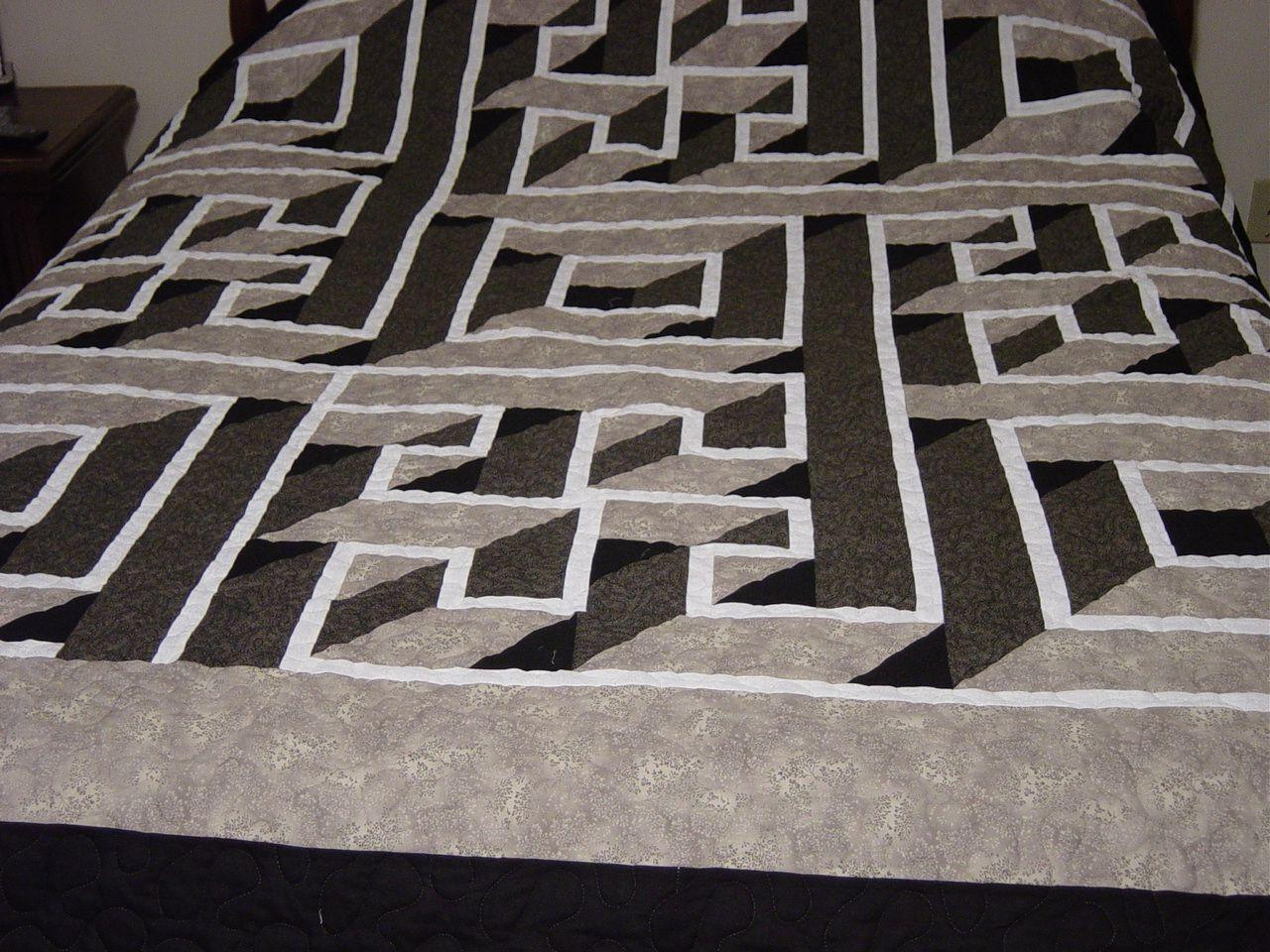Square Labyrinth Pattern   Grandson quilt ideas   Pinterest ... : free labyrinth quilt pattern - Adamdwight.com