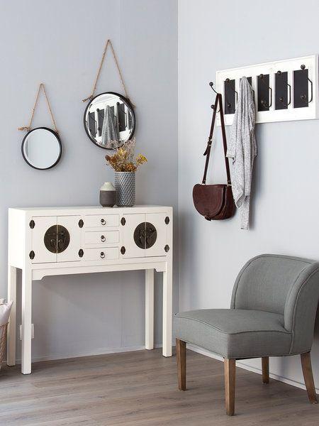 Los recibidores m s trendy estilo oriental perchero y for Ixia muebles